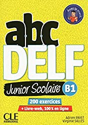 ABC DELF Junior: Livre de l'eleve B1 + DVD + Livre-web