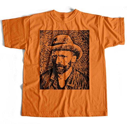 Old Skool Hooligans Art Originals Van Gogh T Shirt - Self Portrait Hat