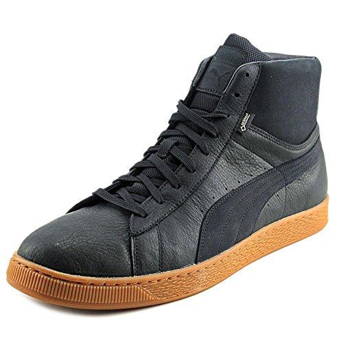 Puma Basket Mid GTX Cuir Baskets Puma Black