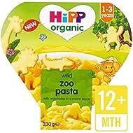 Hipp Formes De Pâtes Zoo Organique Avec Légumes Et Sauce Au Fromage 230G - Paquet de 2