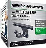 Rameder Attelage rotule démontable pour Mercedes-Benz Classe C T-Model + Faisceau 7...