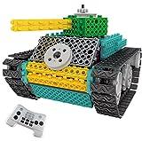 Think Gizmos Roboter Set für Kinder - Roboter zum Zusammenbauen - Ingenious Machines Bausatz für ferngesteuertes Spielzeug alle Batterien enthalten. (Panzer)