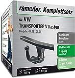 Rameder Komplettsatz, Anhängerkupplung starr + 13pol Elektrik für VW Transporter V Kasten (125013-05004-1)