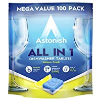 Astonish All in One Dishwasher Tablets Lemon 100's