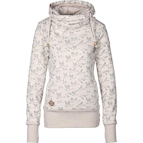 L Hooked Melange Ragwear Sweatshirt Beige Femme Hulkerragwear uOkXiZP