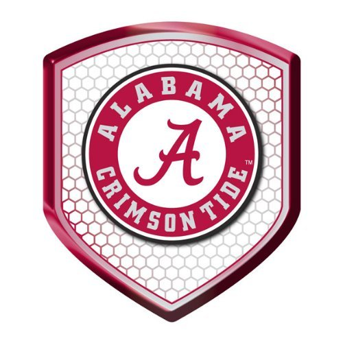 Offizielles Lizenzprodukt für Reflektor-Aufkleber NCAA Alabama Crimson Tide