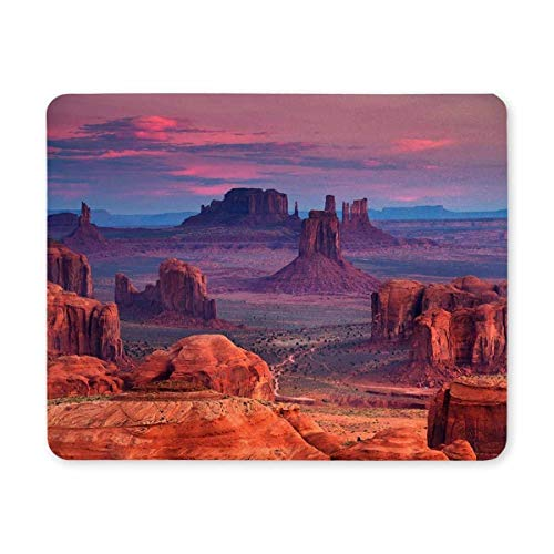 Gaming Mouse Pad, Maus - Pads Sunrise Bei der Jagd - Plattform der Navajo Nation Majestät Mousepad - Spiel