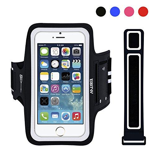 EOTW Sportarmband Handyhülle universell passend für iPhone, Samsung, HTC, usw., Oberarmtasche In Verschiedenen Farben und Größen für Laufen (SE-1)