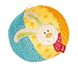 sigikid 40581 Ball Rainbow Rabbit, 14 cm