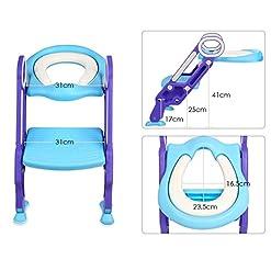 Adaptador wc para niños con escalera medidas asiento y escalera