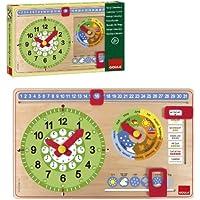 Goula - Reloj calendario ingles (51317)