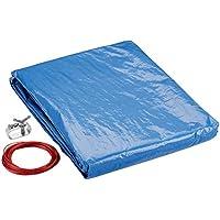 marimex lona para acero o frame Pool 4,57m Supreme, Azul/Negro, 457x 457x 0,1cm, 10420005