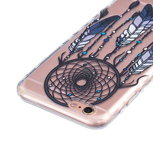 Coque iPhone 6 Plus Silicone Coque pour iPhone 6s Plus (5.5), Sunroyal® Ultra Slim Etui Housse Transparente [Absorption de Choc] Gel TPU Souple Shell Protection pour Apple iPhone 6 Plus/6s Plus (5.5 p Non-slip 11