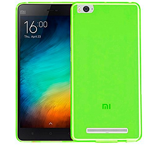 TBOC® Grün Gel TPU Hülle für Xiaomi Mi 4i – Xiaomi Mi 4c Ultradünn Flexibel Silikonhülle