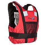 Lalizas Corne de Pro Race Aide de flottabilité Unisexe Adulte, 71444, Rouge, 40-70 kg