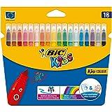 Bic Kids - Pennarelli colorati Astuccio da 18