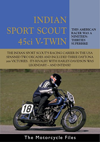 INDIAN SPORT SCOUT 1936 RACER - AN AMERICAN RACING ICON: A HAND-CHANGE HOT ROD (THE MOTORCYCLE FILES Book 16) (English Edition)