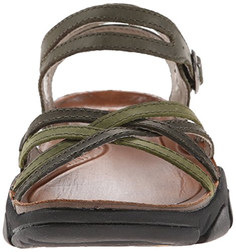 Keen Dames Naples II sandale RRP £90 Marron