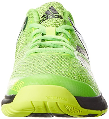 adidas Court Stabil 13, Scarpe da Basket Uomo Verde (Solar Green/ftwr White/core Black)