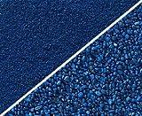 Aquariumpflanzen.net 3x5kg Farbsand enzianblau 0,4-0,8mm, Bodengrund, Aquariensand, Kies