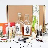 DO YOUR GIN - Set completo per il tuo Gin   Gin fai da te   12 Spezie naturali di alta qualità in bellissime fialette di vetro   Regalo perfetto per uomini e donne   Kit Gin