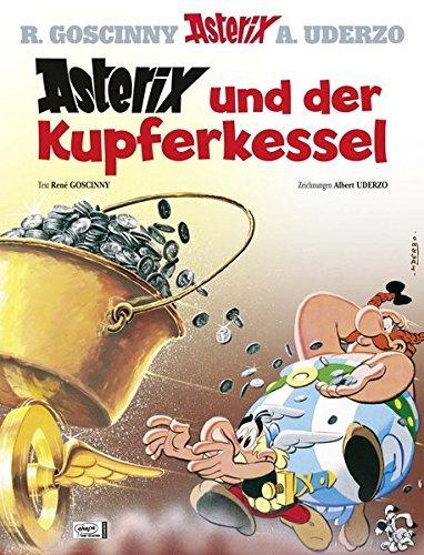 Asterix in German: Asterix Und Der Kupferkessel by Ren?? Goscinny (2013-04-19)
