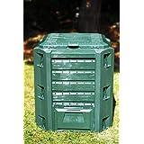 380L cesto de reciclaje New Green, verde