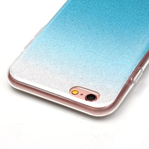 YAN Für iPhone 6 / 6s, IMD Color Fades Glitter Powder TPU Schutzhülle YAN ( SKU : IP6G8686N ) IP6G8686G