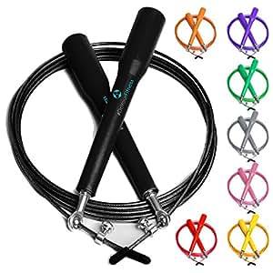 """Speed-rope """"rapido""""/high-speed corda per saltare/360 ° giunto sferico regolabile in filo metallico con corda/disponibile in diversi colori"""