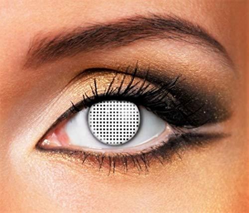 Phantasy Eyes ®Lentilles de Contact de couleur blanche - Halloween,  Fantaisie Crazy Lens ( a56e8b75b521