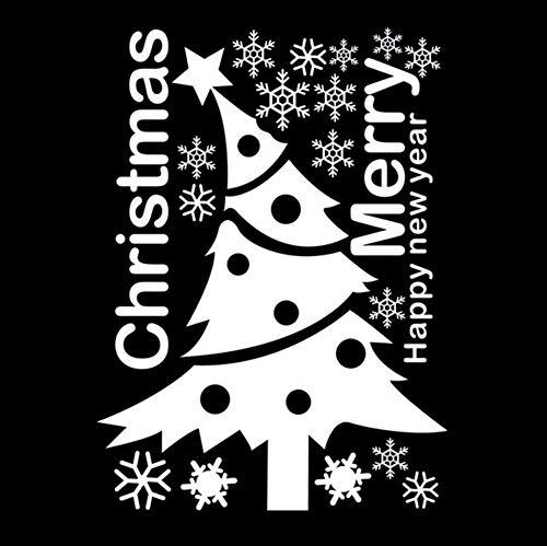 Mgdtt Schneeflocke Fensterglas Aufkleber Schrank Weihnachten, Neujahr Dekoration Kinderzimmer Tapete 65X88Cm Z