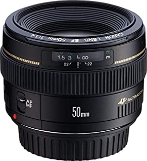 Canon EF 50mm f/1.4 USM - Objetivo para Canon (distancia focal fija 50mm, apertura f/1.4, diámetro: 58mm) color negro (B00009XVCZ) | Amazon price tracker / tracking, Amazon price history charts, Amazon price watches, Amazon price drop alerts