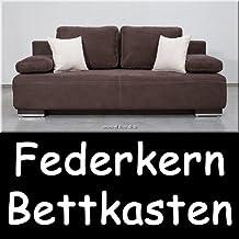 Schlafcouch mit bettkasten 160x200  Suchergebnis auf Amazon.de für: schlafsofa mit grosser liegefläche ...