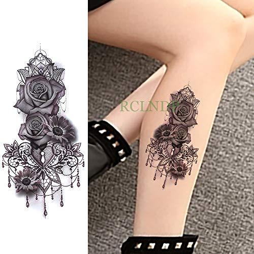Tzxdbh 5pcs Impermeable Etiqueta engomada Tatuaje