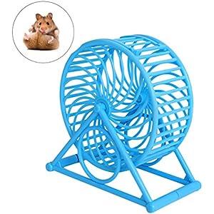 UEETEK Hamster Spielzeug Maus Mäuse Rad Spielzeug für kleine Haustiere Running Sport Übung Jogging