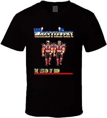 FUBAO WrestleFest Legion of Doom - Maglietta per videogiochi, colore: Nero