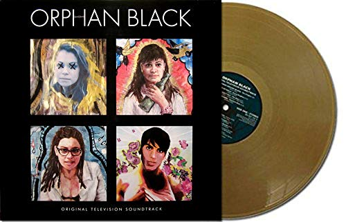 Orphan Black [Original TV Soundtrack] Exclusive Gold Color Vinyl