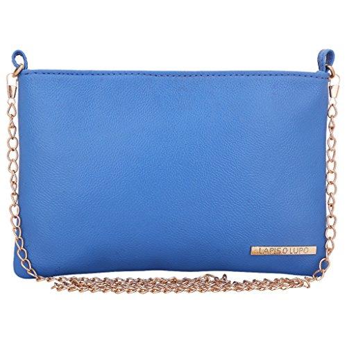 Lapis O Lupo Bluish Women's Sling Bag (Sky Blue)