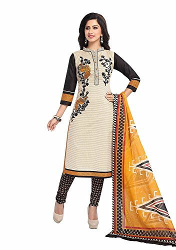 Crazy Women's Pure Cotton Dress Material Salwar Kameez for women Unstitched Daily...