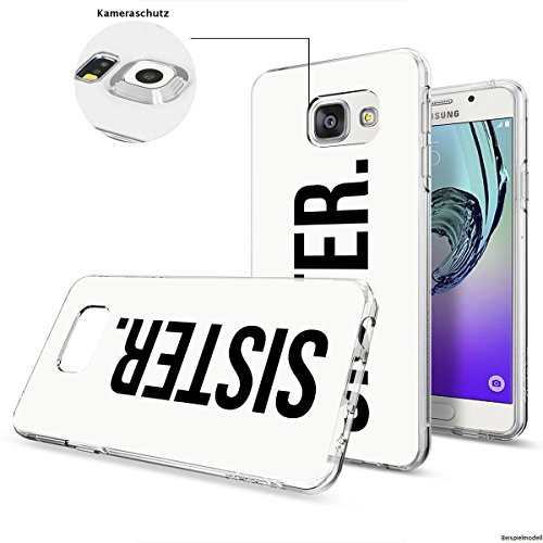 Motivo Serie 1 Custodia Rigida Iphone - Primo caffè, Samsung Galaxy S6 Edge Sorella dot bianco