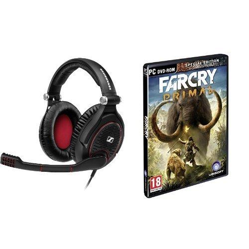 Sennheiser GAME ZERO Cuffia Gaming Chiusa con Blocco Rumore, Nero + Far Cry Primal - Special Edition - PC
