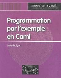 Programmation par l'exemple en Caml