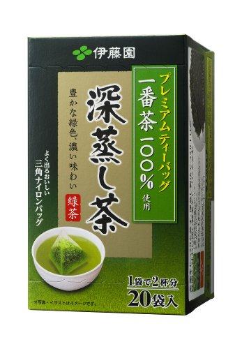Itoen Premium Tee Bag Fukamushi Tea 1.8g - 20 peace - Green Tea - (Pack Type)