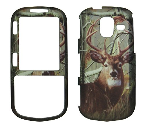 2D Camo Buck Deer Realtree Samsung Intensity III - 3 U485 Verizon Case Cover Hard Phone Case Snap-on Cover Rubberized Touch Faceplates