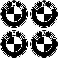 4 PEGATINAS DE 8 cms. DE DIAMETRO LOGO MOTO BMW VINILO ADHESIVO VINIL STICKER DECALS AUFKLEBER
