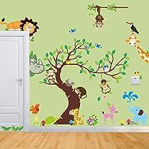 Suchergebnis auf Amazon.de für: wandtattoo kinderzimmer tiere