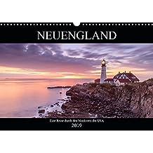 NEUENGLAND - Eine Reise durch den Nordosten der USA (Wandkalender 2019 DIN A3 quer): Die Wiege Amerikas (Monatskalender, 14 Seiten ) (CALVENDO Orte)