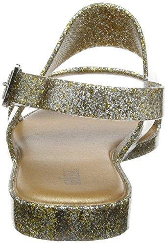 Melissa Classy 19, Sandales Bride Arriere Femme Gold (Gold Glitter)