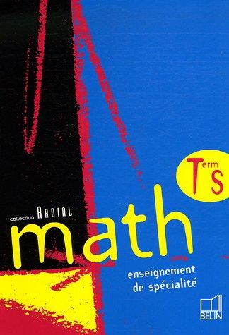 Math Tle S : Enseignement de spcialit