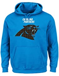 Carolina Panthers Majestic NFL Critical Victory 2 Men's Hooded Blue SweatShirt Chemise